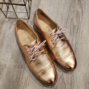 Cole Haan Pink Rose Oxford Shoes